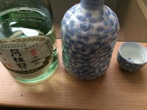 ヌーベル月桂冠 特別本醸造を熱燗にした