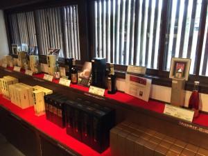 大倉記念館のお酒展示