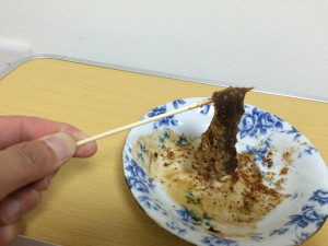 わらび粉100%のわらび餅2