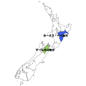 ニュージーランド詳細地図