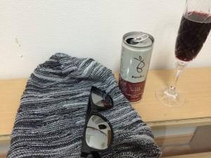 バロークススパークリング缶ワイン赤の終わり