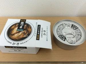 缶つまプレミアム牡蠣燻製の缶