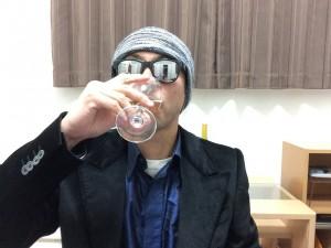 サンタ・ヘレナ アルパカ シャルドネ・セミヨンを飲んでいます