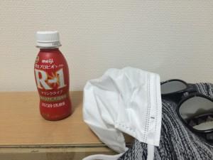 r-1とサングラス