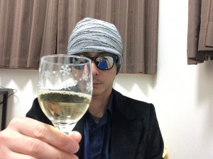 コノスル オーガニック シャルドネとグラス