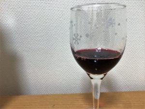 グラスに注いだフロンテラカベルネ・ソーヴィニヨン