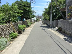 石垣島の街並み