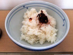 ご飯に石垣島ラー油