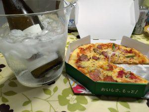 コノスル ゲヴュルツトラミネール ヴァラエタルとピザ