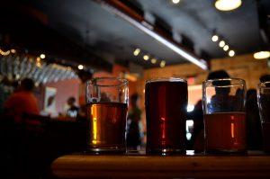 お祝いビール