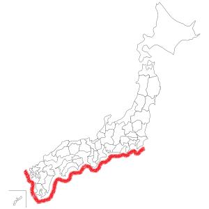 伊勢海老生息地図