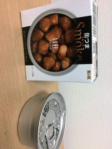 缶つまスモーク 貝柱の缶