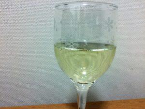 フレグラ スパークリングとグラス