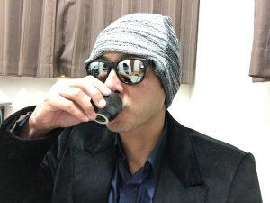 神亀純米酒の熱燗を飲んでみた