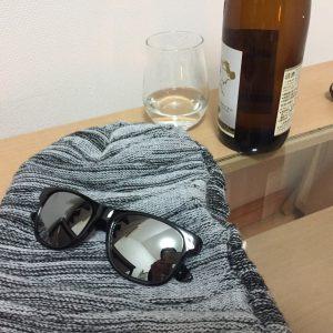 八海山特別本醸造とサングラス