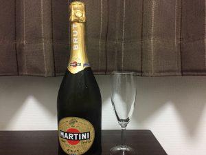 ■マルティーニ  ブリュット表ラベル